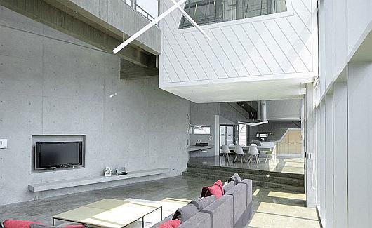 island house 1, modern architecture, island house, island, interior design