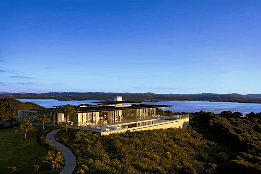 Luxury Villa In New Zealand A Piece Of Paradise Home Design Find