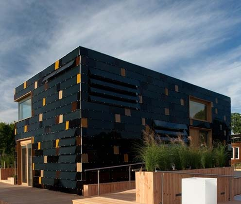 Germany Solar Decathlon Cube House1 green