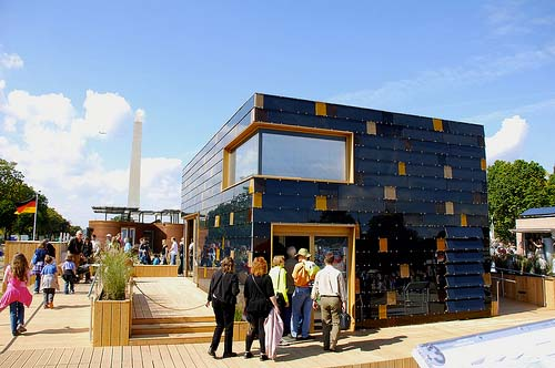 Germany Solar Decathlon Cube House11 green
