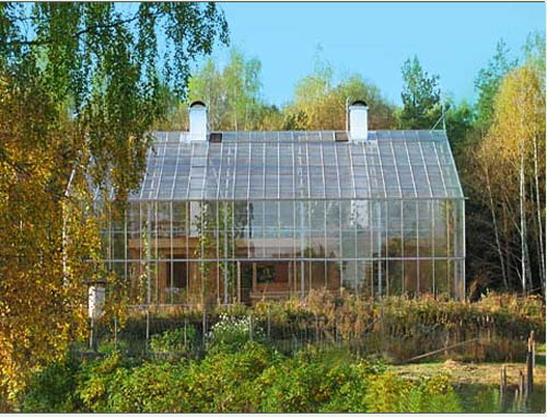 Thumbnail image of Living in the Warm Sunshine of a Swedish Greenhouse