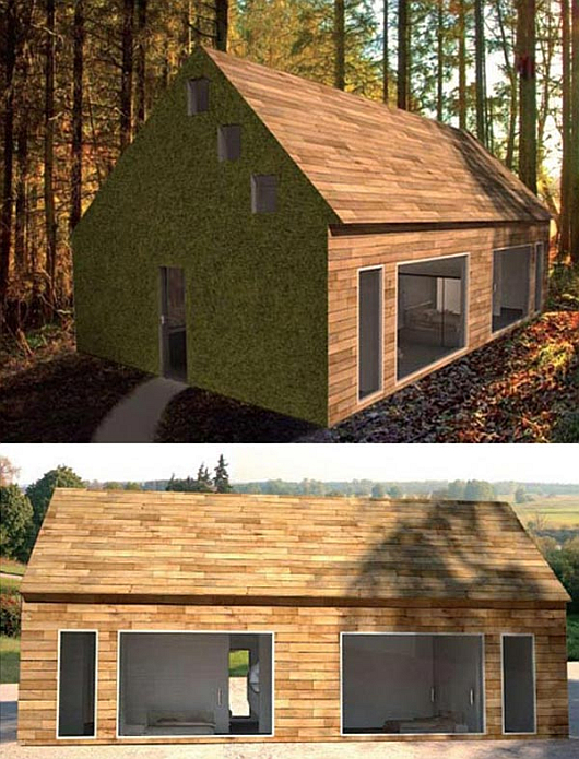 wooden prefabricated homes by Subissati 6