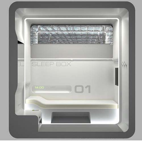Sleepbox2 bed bath