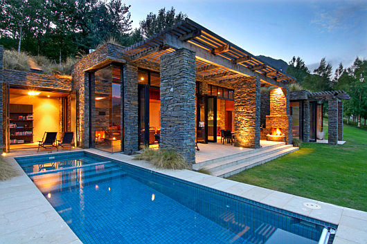 Thumbnail image of Amazing Stone Hideaway in New Zealand by Murray Cockburn