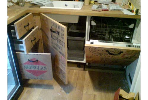 Crate Remodel diy