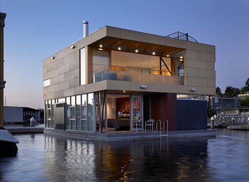 Floating Home7 architecture