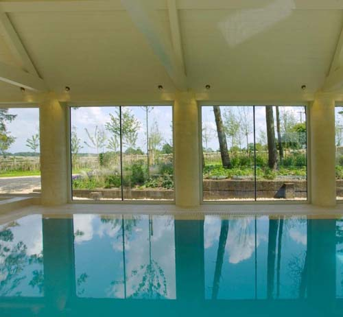 Thumbnail image of Swimming Pool Acts as Thermal Storage in 17th Century Eco-Retrofit
