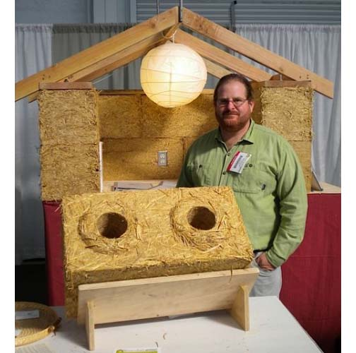 Thumbnail image of Straw Building Blocks Make Warm Sustainable Homes