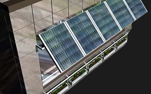 Thumbnail image of Solar Awnings-Plus for Commercial Buildings