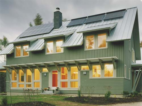 Thumbnail image of Spec House in Maine Gets LEED – Teaches Zero Carbon Design
