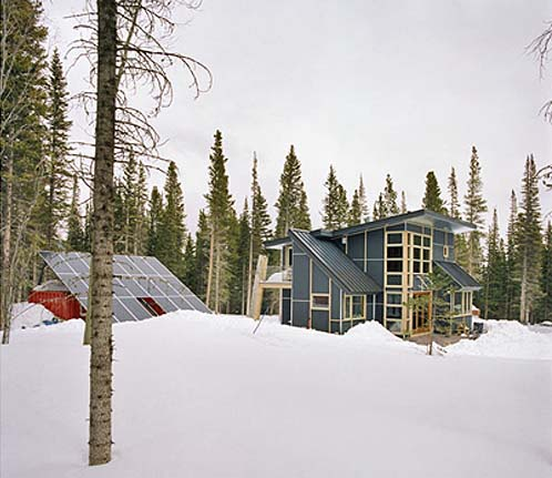 Thumbnail image of Modest + Sustainable Ski Chalet is A Rebuke to Ostentatious Neighbors