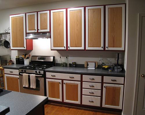 Design Dilemma: To Paint or Not to Paint Wood Cabinets | Home ...