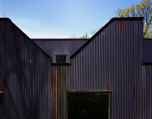 Thumbnail image of A Copper Box of Daylighting in the Woods
