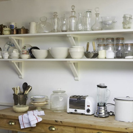 Design Dilemma: Open Shelving In The Kitchen | Home Design Find