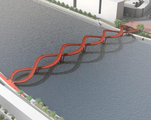 Thumbnail image of Human-Scale Bridge Encourages Low Carbon Locomotion