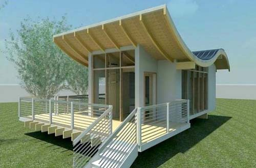 Thumbnail image of Another Wavy Roof Heralds a New Energy Design Vernacular