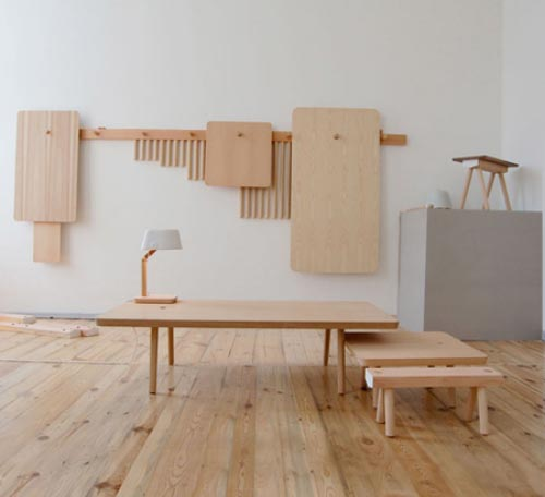 Thumbnail image of A Shaker-Inspired Adjustable Peg Furniture System