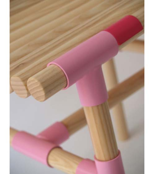Thumbnail image of WIS Celebrates Joinery in Juvenile Benches from Sticks