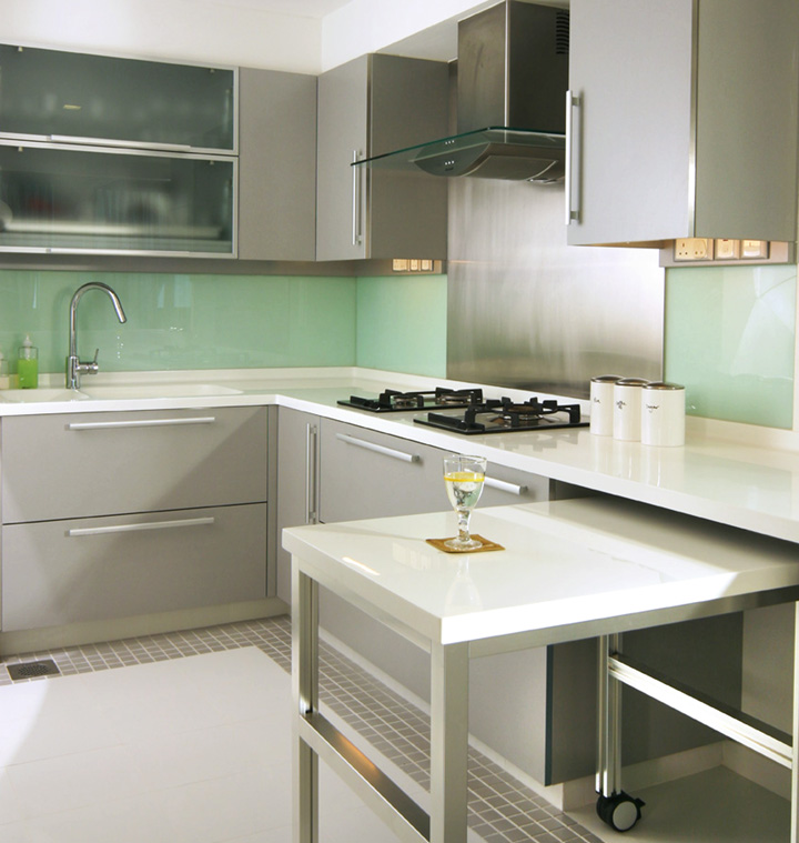 kitchenisland2 284x300 how to tips advice 3 add kitchen cabinet - Functional Kitchen Cabinets