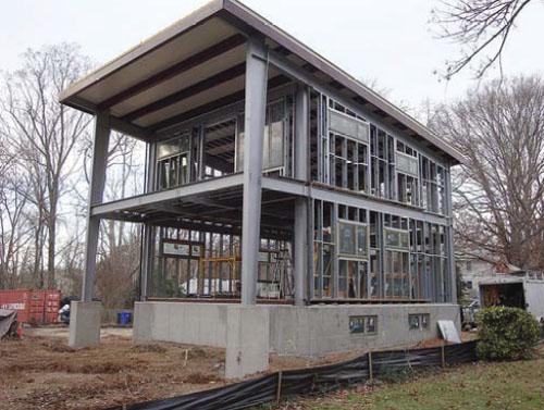 Thumbnail image of EcoSteel Builds an Honest Steel Home for 3030 House Project