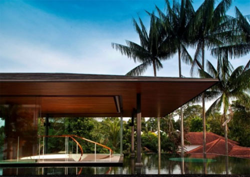 Thumbnail image of Award-Winning Watercooled House for Singapore from Wallflower