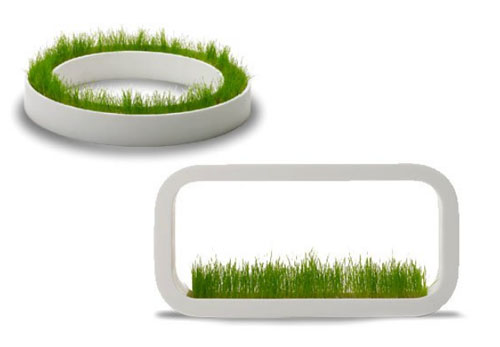 grass planter diy