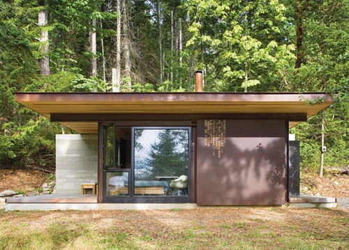 Thumbnail image of Olson Kundig Architects' Weathered Steel Cabin Makes a Burly Retreat