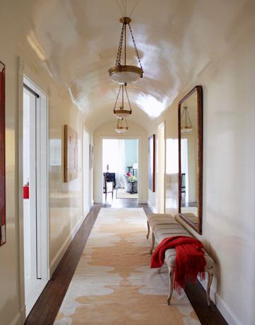 Design Dilemma Confronting a Narrow Hallway  Home Design Find