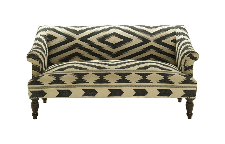 Design Dilemma Choosing A Patterned Sofa Home Design Find Magnificent Patterned Settee