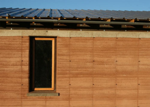 Navajo rammed earth3 green