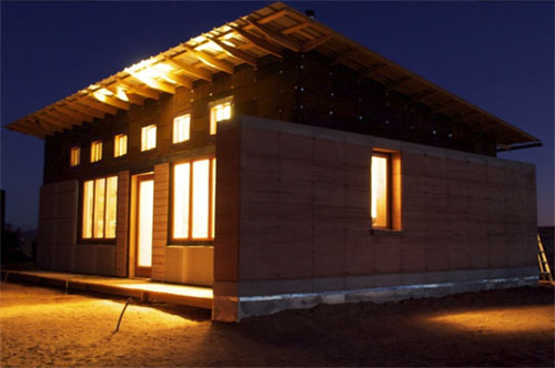 Navajo rammed earth6 green