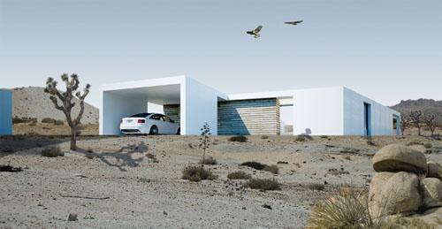 Platform Desert Houses1 green