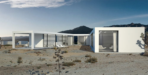 Platform Desert Houses4 green