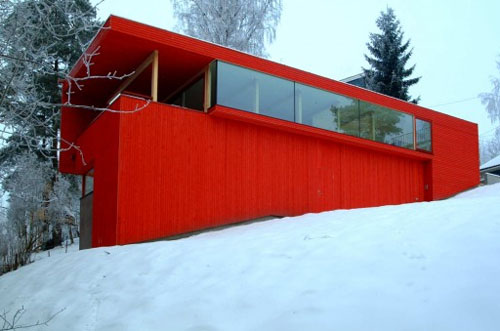 Red house 1 architecture