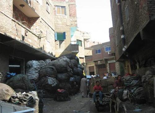 garbage city green