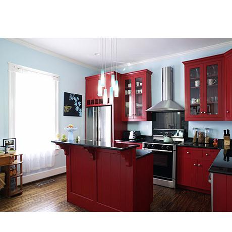 Design Dilemma Red Kitchens Home Design Find
