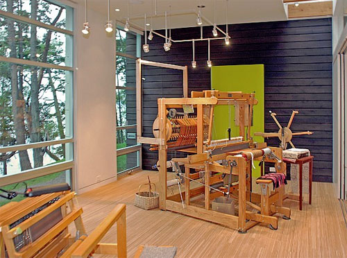 Washington weaving studio 3 green