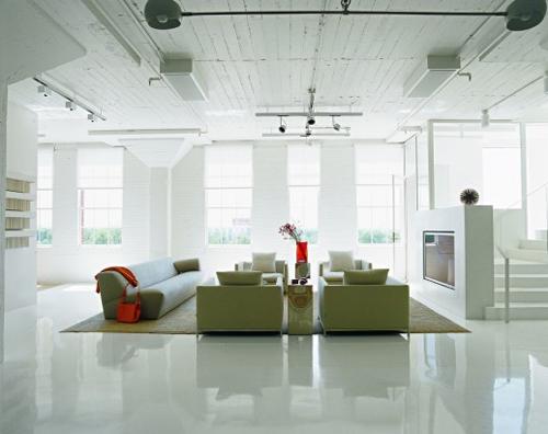 white loft 1 architecture
