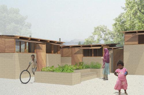 Hybrid house 2 green