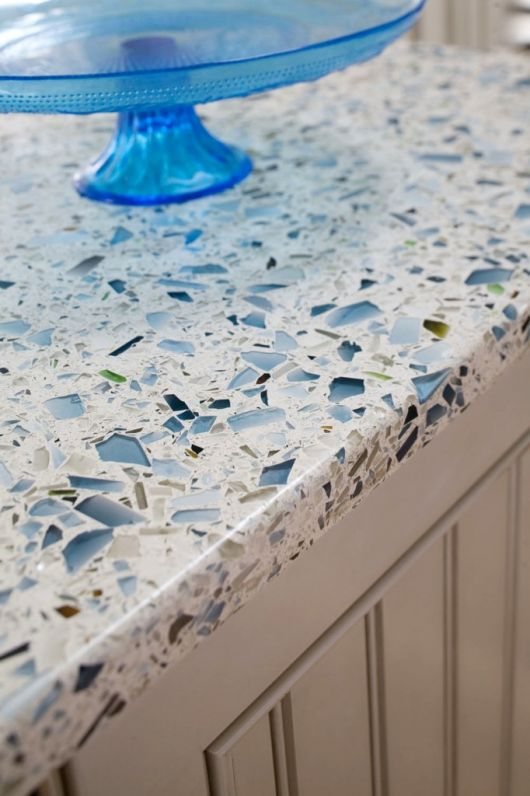 recycled glass countertop1 682x1024 how to tips advice