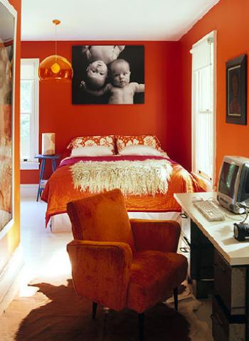 orangebedroom room growersandnomads how to tips advice