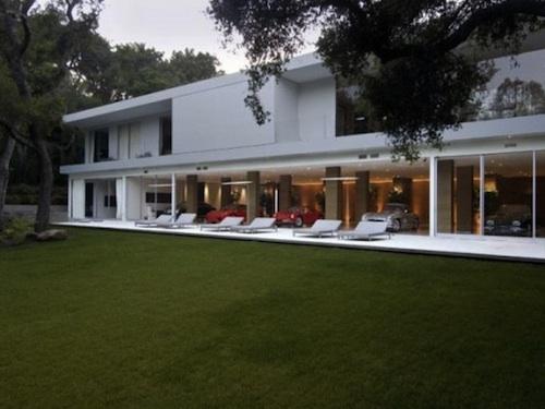 luxury car garage architecture