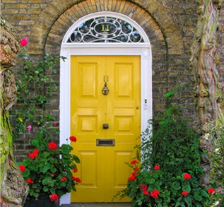 yellow front door how to tips advice