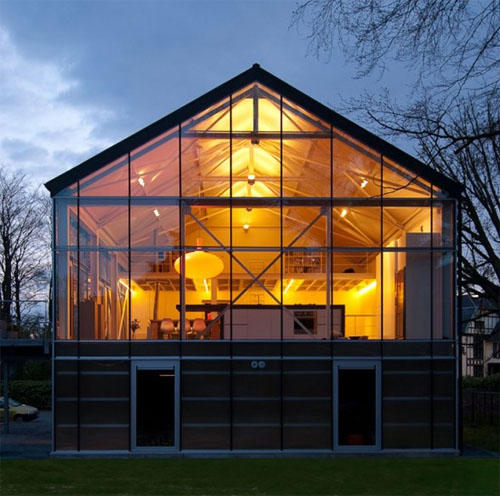 Modern Greenhouse 3 green