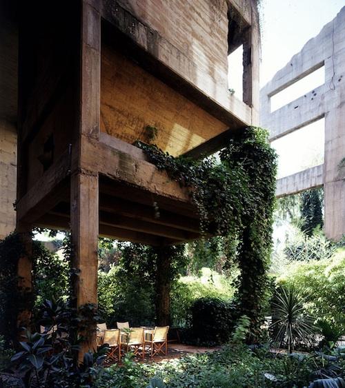 Ricardo Bofill cement factory 1 green