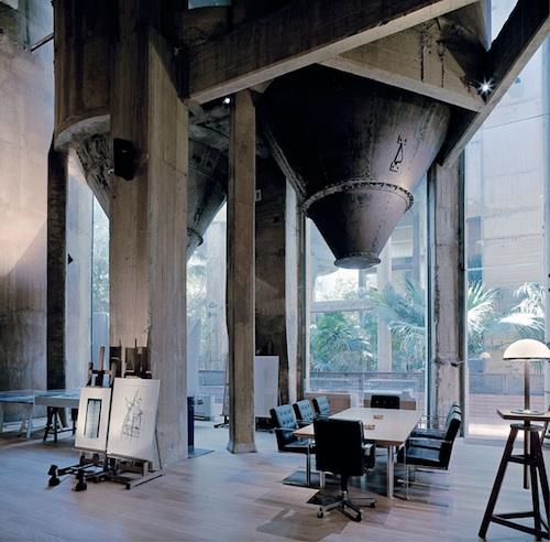 Ricardo Bofill cement factory 4 green