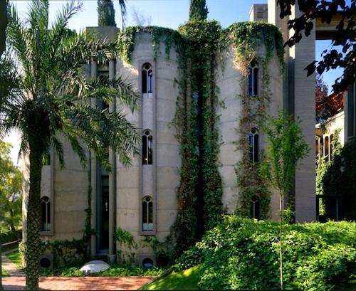 Ricardo Bofill cement factory 52 green
