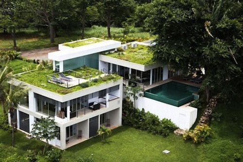 modern jungle home costa rica 1 green