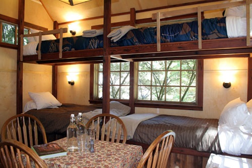 upper pond treehouse 1 dining entertaining