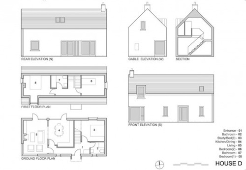 Modern irish house plans - House design plans